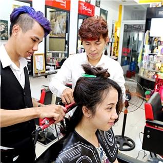 Cùng Mua (off) - Tron goi uon/duoi/nhuom+cat+goi+say tai Salon Phuong Tokyo