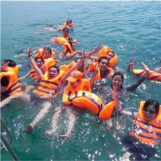 Cùng Mua - Tour Dao Binh Ba - tiec hai san Vinpearl Land - Doc Let 3N3D