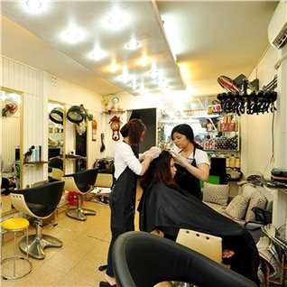 Cùng Mua (off) - Lam toc tron goi + tang hap dau tai Hair Salon Thao Goldwell