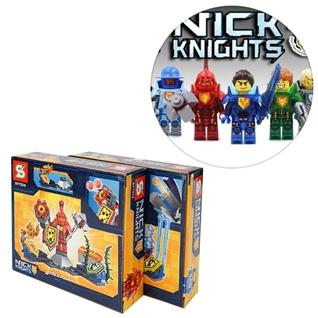 Cùng Mua - Combo 2 bo do choi lego chien binh Nick Knights - Ma A va C