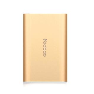 Cùng Mua - Pin sac du phong Yoobao S3 dung luong 6000mAh - gold