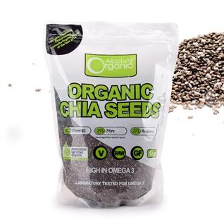 Cùng Mua - Hat Chia Uc Seeds Organic High In Omega 3 den