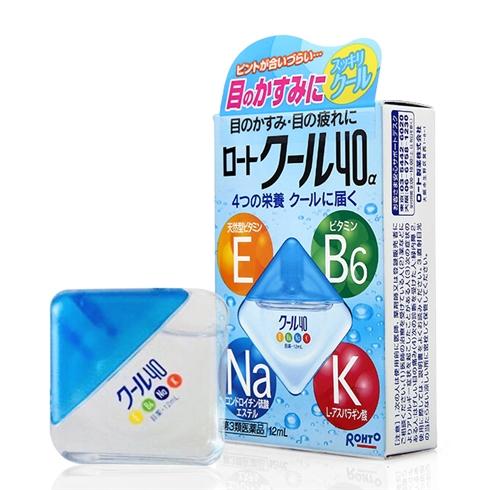 Thuốc nhỏ mắt Rohto Vita 40 Nhật Bản