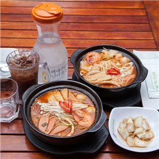 Cùng Mua - Mi/banh canh cay chinh hieu Han Quoc + 1 nuoc tai Chi-Ri-San