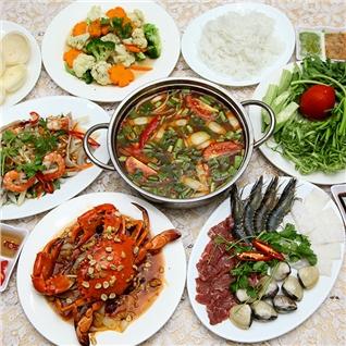 Cùng Mua - Set menu hap dan danh cho 3 - 4 nguoi tai Quan Cua Mai