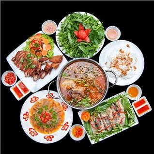 Cùng Mua - Set menu hap dan tai B va W garden danh cho 3 - 4 nguoi