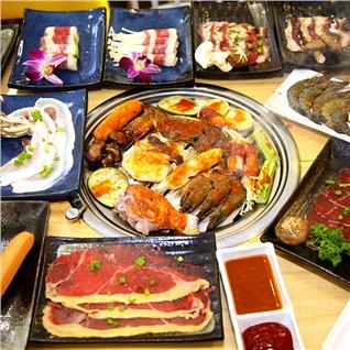 Cùng Mua - Buffet toi bo My nuong,hai san,lau,free kem-Hongkong Town