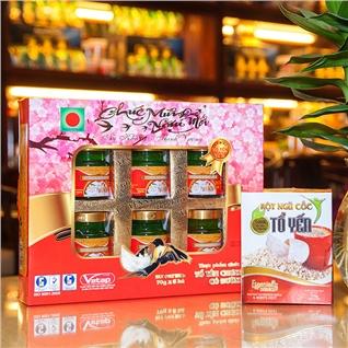 Cùng Mua - Combo 6 hu yen chung san co duong - Yen Sao Sai Gon An Pha