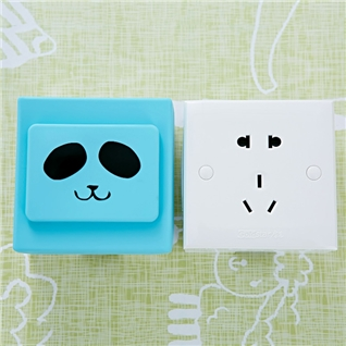 Cùng Mua - Combo 4 nap che o dien bao ve an toan cho be Blue silicon MID