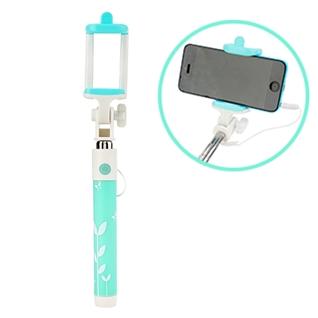 Cùng Mua - Gay chup hinh khong can ket noi Bluetooth hoa van mau xanh