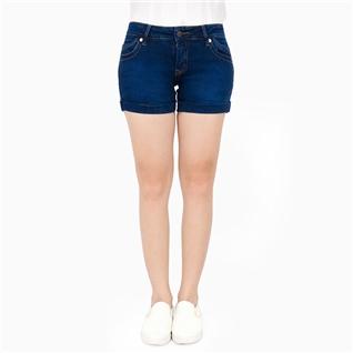 Cùng Mua - Quan short jeans xuat khau VQ18014 mau xanh dam