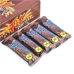 Cùng Mua - Hop 24 thanh banh ngu coc vi cacao Fit Musli 23g