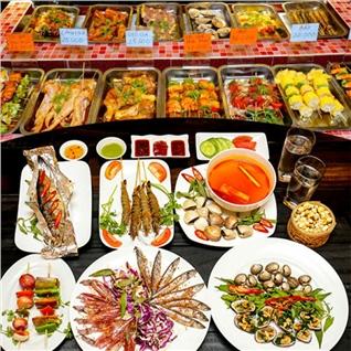 Cùng Mua - Set an 9 mon nuong tai Nha hang It's BBQ