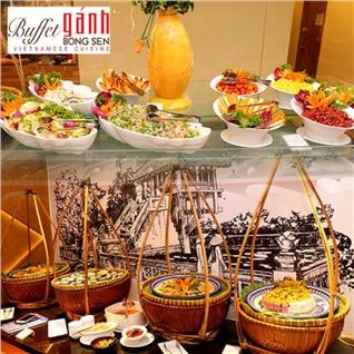 Cùng Mua (off) - Buffet ganh toi 3 mien tai Toa nha Gala Center