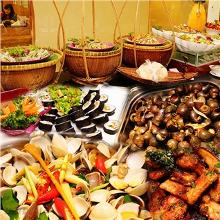 Cùng Mua (off) - Buffet trua 3 mien tai nha hang Ganh Bong Sen - Gala Center