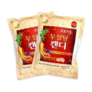 Cùng Mua - Combo 2 goi keo hong sam 500g khong duong tot cho suc khoe