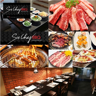 Cùng Mua - Buffet Lau Nuong Han Nhat Nha Hang SuChef BBQ (Khong Phu Thu)