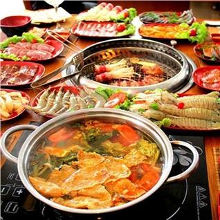 Cùng Mua (off) - Buffet nuong va lau tai Nha hang F3 BBQ
