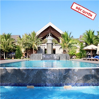 Cùng Mua - Champa Resort va Spa Phan Thiet 2N1D dang cap 4 sao - An sang