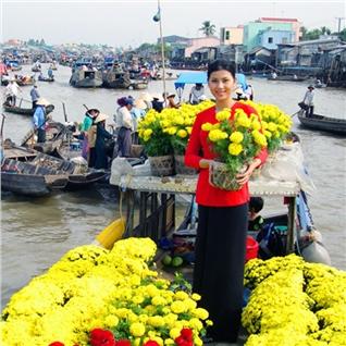 Cùng Mua - Tour cho noi Cai Be - cu lao Tan Phong 1 ngay sieu hap dan