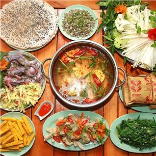 Cùng Mua - Combo lau hap dan cho 04 nguoi tai Phieu Quan