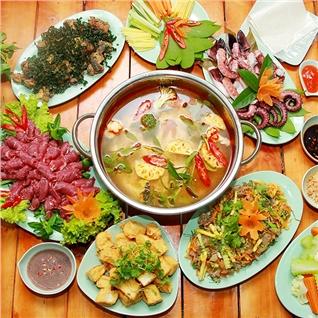 Cùng Mua - Hap dan Set an va Lau day dan cho 6-8 nguoi tai Phieu Quan