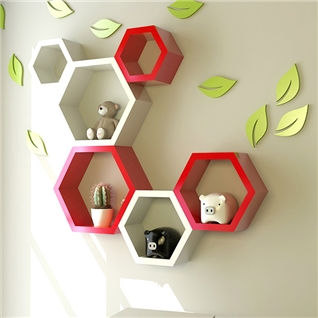Cùng Mua - Bo 3 ke go trang tri hinh to ong iLife - do K32R