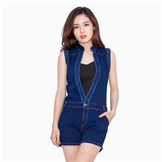 Cùng Mua - Ao Lien Quan Jeans Co Gian - Xanh TP51 (kem ao hai day)