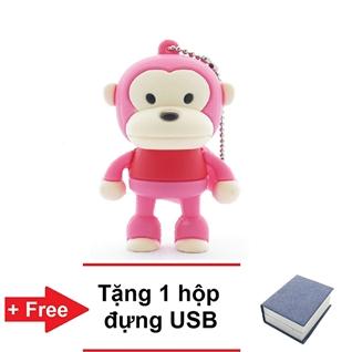 Cùng Mua - USB 8GB 60MB/S MONKEY hong - Bao hanh 12 thang