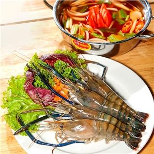 Cùng Mua - Buffet 50 mon nuong, lau thai tom cang xanh tai Krauts Garden