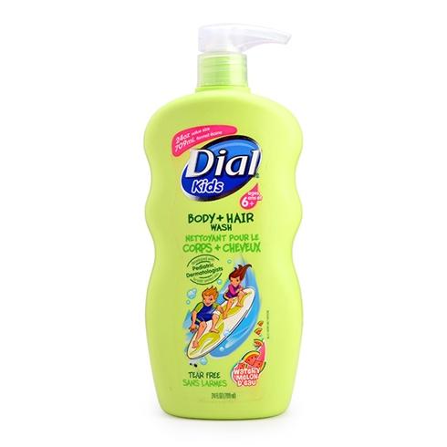 Tắm gội toàn thân Dial Kids 709ml - Mỹ