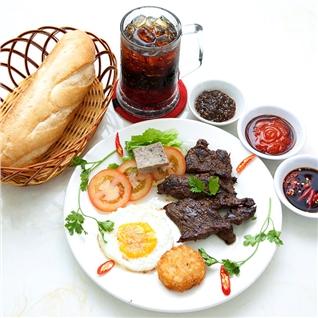 Cùng Mua - 01 phan Steak Kangaroo thap cam + nuoc ngot - Kangaroo