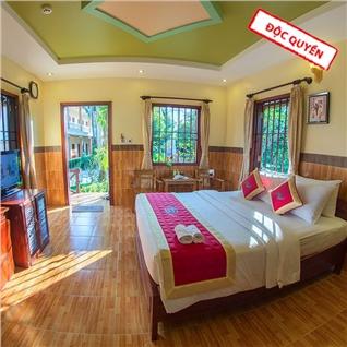 Cùng Mua - Kim Hoa Resort 3* tai Phu Quoc 2 khach - An sang va an toi