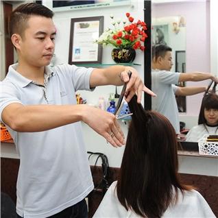 Cùng Mua - Tron goi lam toc dep tang hap duong tai Salon Giang Nguyen