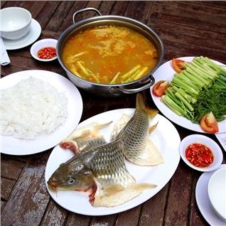Cùng Mua - Thuong thuc mon ca chep nau rieu hap dan - Sai Gon Nho