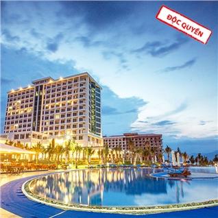 Cùng Mua - Golden Peak Resort Nha Trang 5 sao - Goi 3N2D- An sang buffet