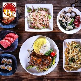 Cùng Mua - Combo 7 mon + trang mieng cho 1 nguoi tai Nha hang Seoul BBQ