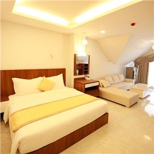 Cùng Mua - Kim Hoa Hotel Da Lat tieu chuan 2 sao - Sat cho 2N1D