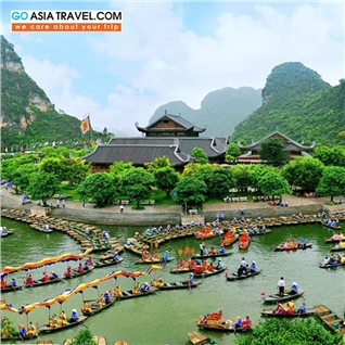 Cùng Mua - Tour Ha Noi – Bai Dinh - Trang An – Moc Chau mua hoa cai 4N3D