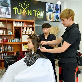 Cùng Mua - Nhuom/Duoi/Uon +cat +goi+ say+ tang phuc hoi – Salon Tuan Tay