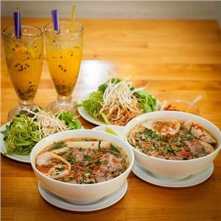 Cùng Mua - Combo 2 to bun bo + 2 ly nuoc ep tai Bun Bo Sai Gon