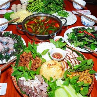 Cùng Mua - Set met khung lon muong + lau ech mang cay noi dai - Moc Quan