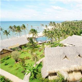 Cùng Mua - Aroma Beach Resort 4 sao - Bao gom An Sang va Trua/toi