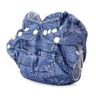 Cùng Mua - Ta quan BabyCute loai ngay size S (3-9kg) - Jeans xanh