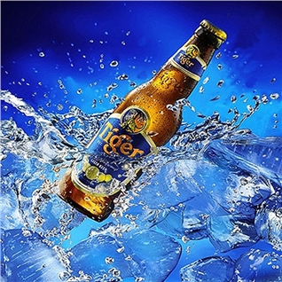 Cùng Mua - Combo 9 chai beer Tiger nau - Quan An Doi Chung Cua 1 Cang