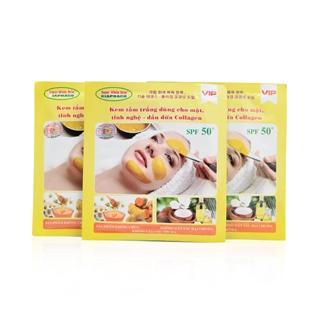 Cùng Mua - Combo 3 tam trang da mat nghe, collagen, dau dua 100g
