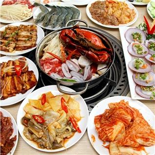 Cùng Mua - Buffet Nuong Lau Hai San phong cach A - Au tai Nha Hang TBQ.