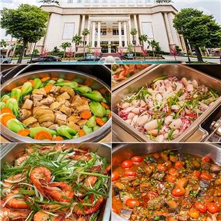 Cùng Mua - Buffet trua tren 50 mon tai khach san 5 sao Tan Son Nhat