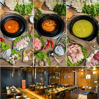 Cùng Mua - Buffet lau thuong hang tai Nha hang Sochu (khong phu thu)