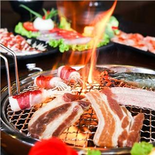 Cùng Mua - Buffet nuong lau Thai (nuoc hoa qua)-Thai BBQ Mipec Long Bien